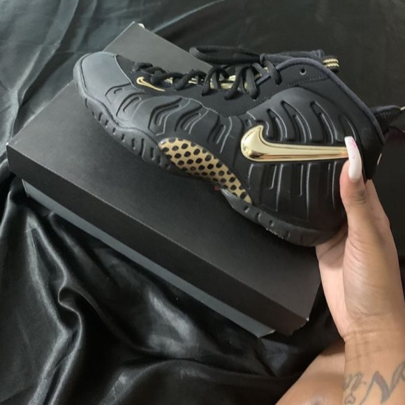 fast delivery 2018 shoes 2018 sneakers Nike Shoes | Air Foamposite Pro Black Metallic Gold | Poshmark